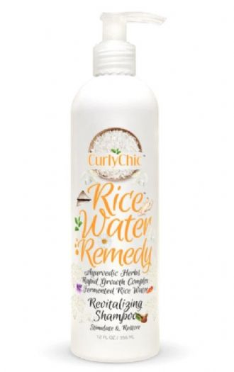 curlychic Rice Water Remedy Revitalizing Shampoo 356ml